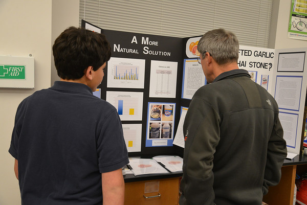 Middle School Science Fair 2013