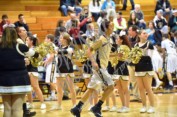 Varsity - Berks Catholic vs Fleetwood Boys Basketball 2014 - 2015