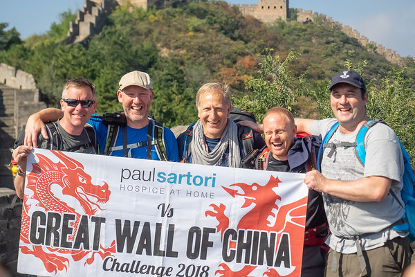 Paul Sartori Great Wall of China Trek 2018