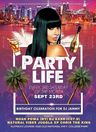 DJ JAMMY'S PARTY LIFE BIRTHDAY BASH 2017