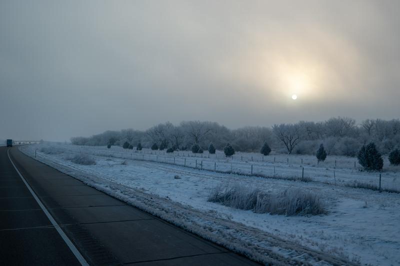 Nebraska Freezing Fog