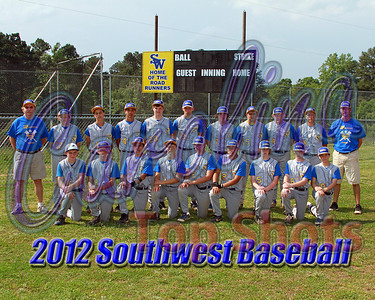 2012 Southwest Baseball photos