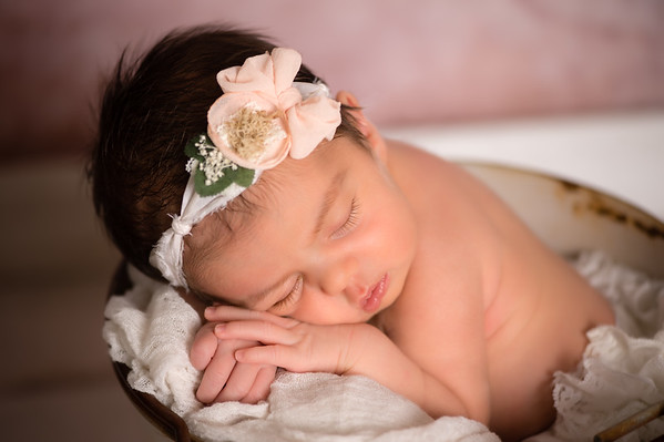 Luna Newborn Creative Art Images