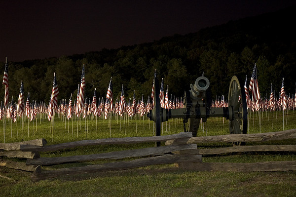 Field of Flags - Kennesaw Mountain Georgia