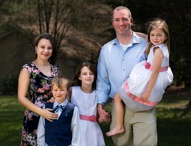 17.04.16 Hogan Family - Easter