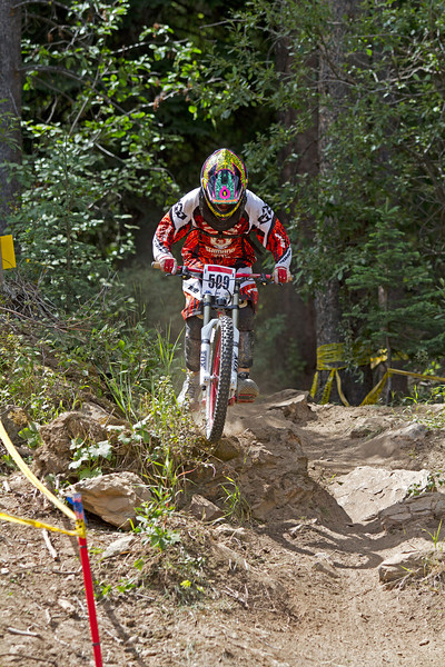 Mountain Biking - Canada Cup DH & BC Cup DH - Panorama, July 2011