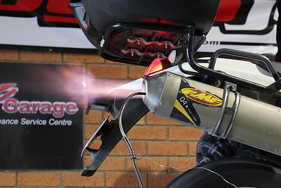 CR MotoGarage Dyno Day 100829