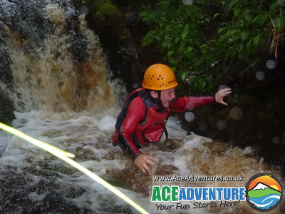 Sunday 8th June Canyoning River Findhorn, Scotland