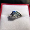 1.88ctw Platinum Filigree Solitaire Ring by C.D. Peacock, GIA S-T, VS 16