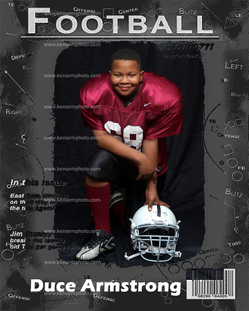 Duce football covers 2014
