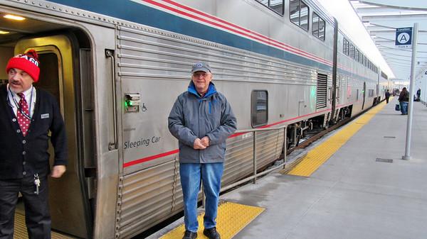 Amtrak's California Zephry - Chicago to Denver