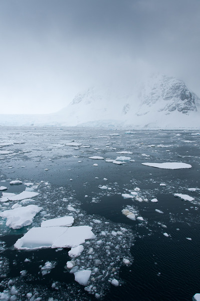 Scenery in Lemaire Channel, Antarctica