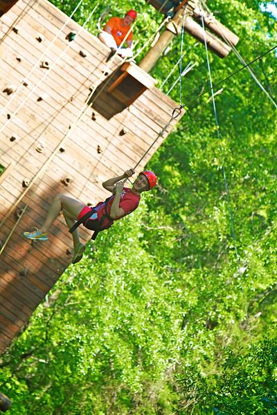 Broyhill Adventure Course: Adventure Recreation at Gardner-Webb University.