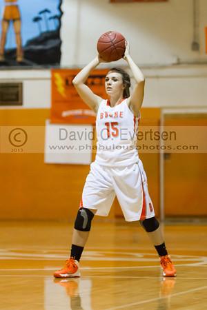 Boone Girls Varsity Basketball #15 - 2013