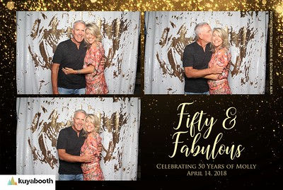 Mollys 50th - Photo Booth
