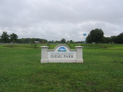Diehl Park sign