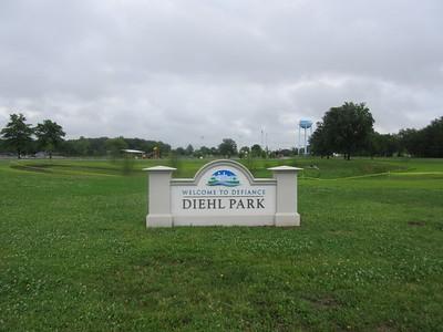Diehl Park sign