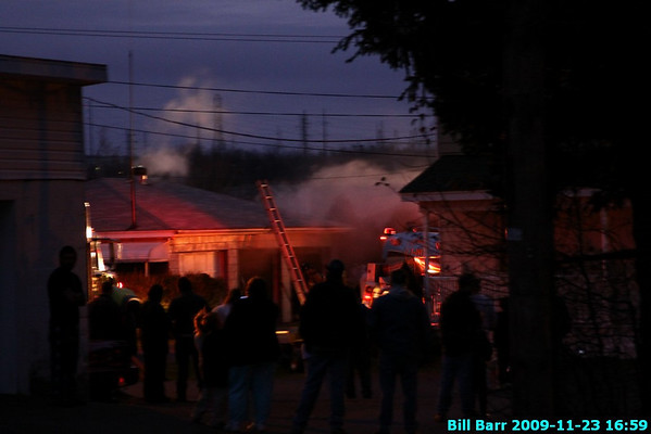 WSF Garage, Harwood, Hazle Twp. 11/23/09