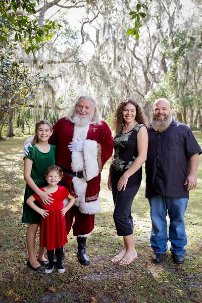 Santa Minis 2018: Nora and Family!