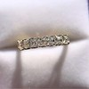 1.17ctw French Cut Diamond 7-Stone Band 13
