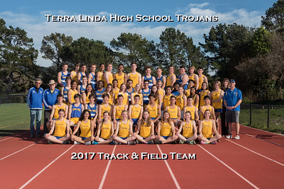 2017 Terra Linda Track and Field Team