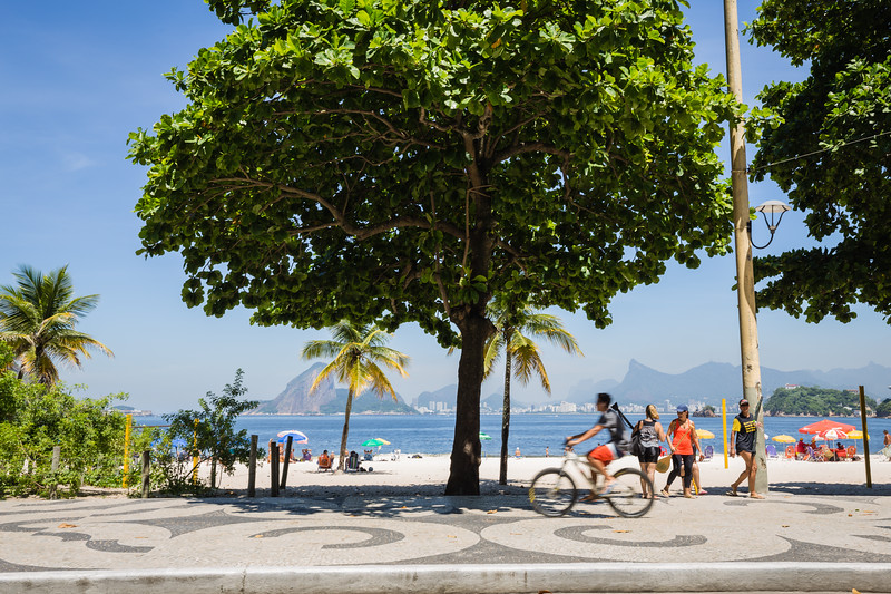 Beach in Rio de Janeiro, Brazil