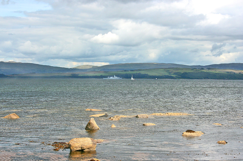 Ship and Rocks