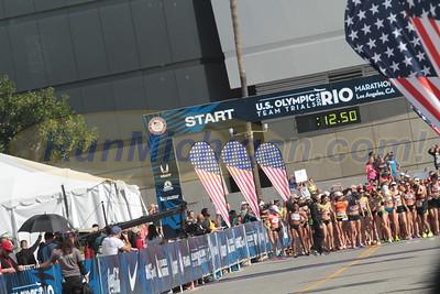 Women's Start - 2016 Olympic Marathon Trials