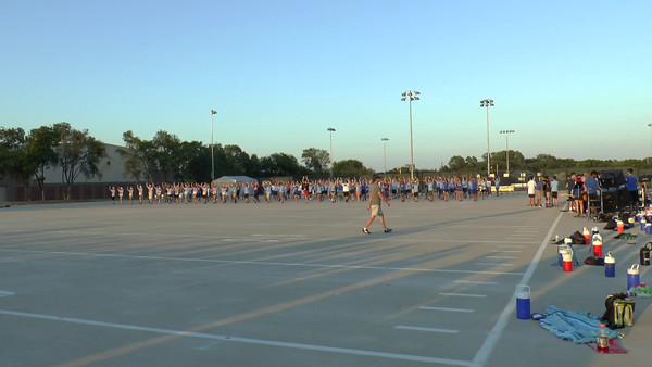Cluster Rehearsal 8/13/2015