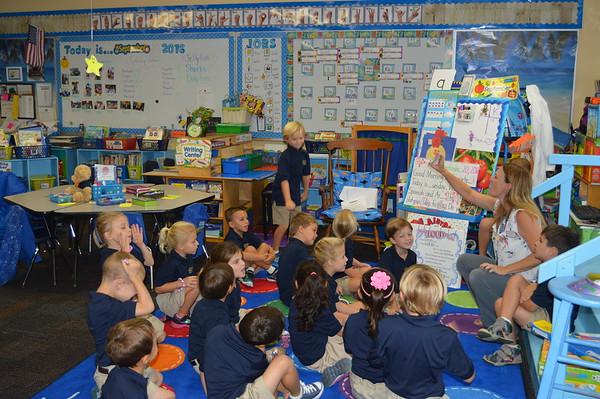5th Week of kindergarten