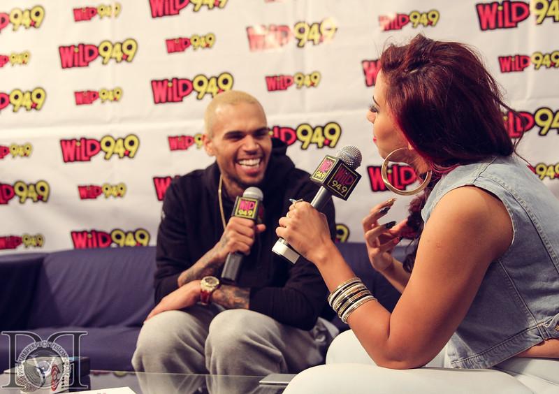 Wild Jam 2013 Nessa, Chris Brown, John Hart, Trey Songs Wild 949 453.jpg