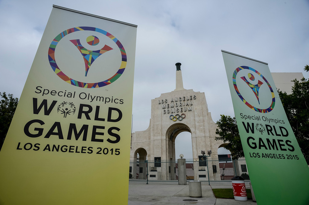 . The 2015 Special Olympics World Games to be held in Los Angeles.   Photo by David Crane/Staff Photographer