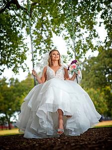 Danielle bridal photos Hidden Pines