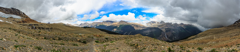 Weather Approaches The Iceline Trail