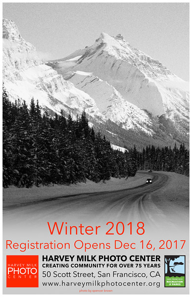 Winter 2018 Classes - 11x17 Poster