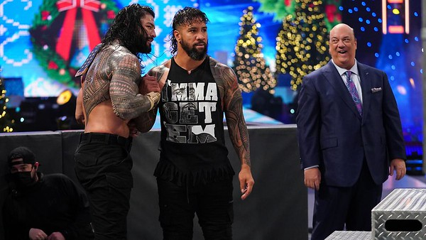 Roman Reigns - Digitals / SD Live Dec 25, 2020