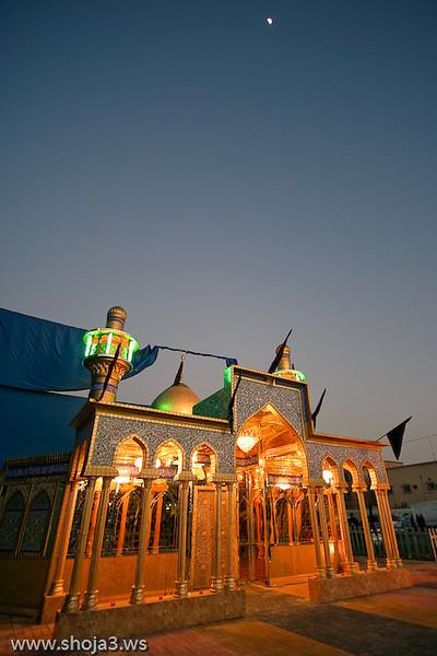 موكب الإمام المهدي عجل الله فرجه - عزاء الزنجيل - يوم الثامن من شهر محرم الحرام 1430