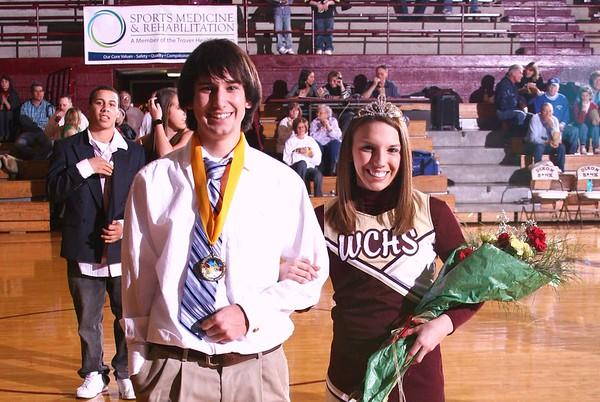 Basketball Homecoming Activies 2008