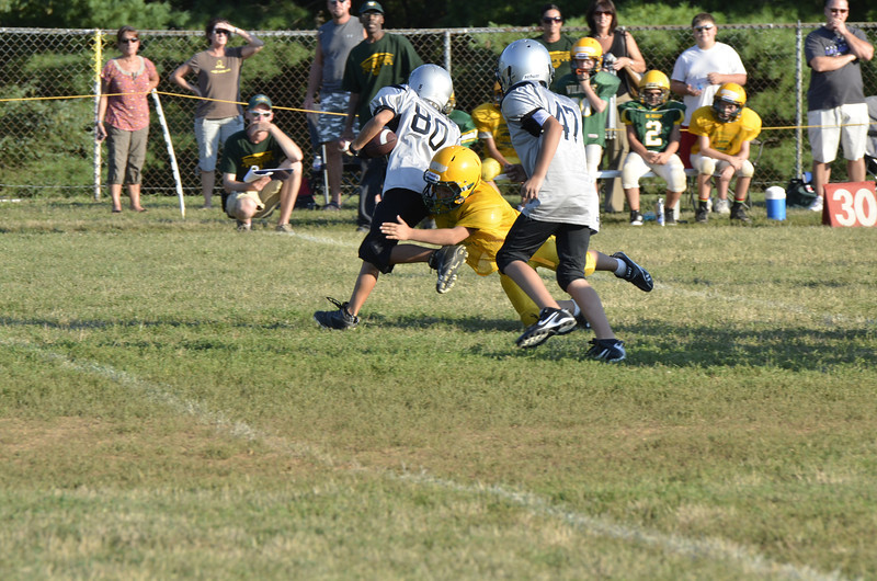 Wildcats vs Raiders Scrimmage 016.JPG