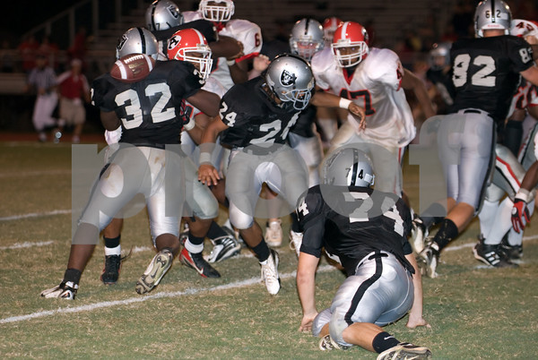 2007 East Paulding vs. Alexander High School Football