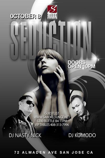 Seduction @ Sabor Tapas Bar & Lounge 10.8.11