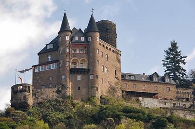 The Rhine River, Germany