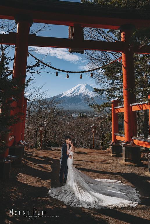 Donfer, 海外婚紗, World tour, 東法, EASTERN WEDDING, 世界旅拍, 河口湖, 富士山, 河口湖婚紗