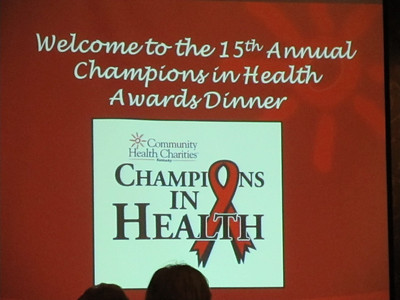 2012 Champions in Health Awards Ceremony