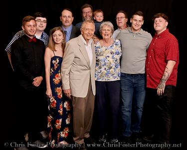 Sweet Family 60th Anniversary Portraits