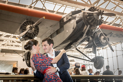 04 Couple @ Air and Space Museum