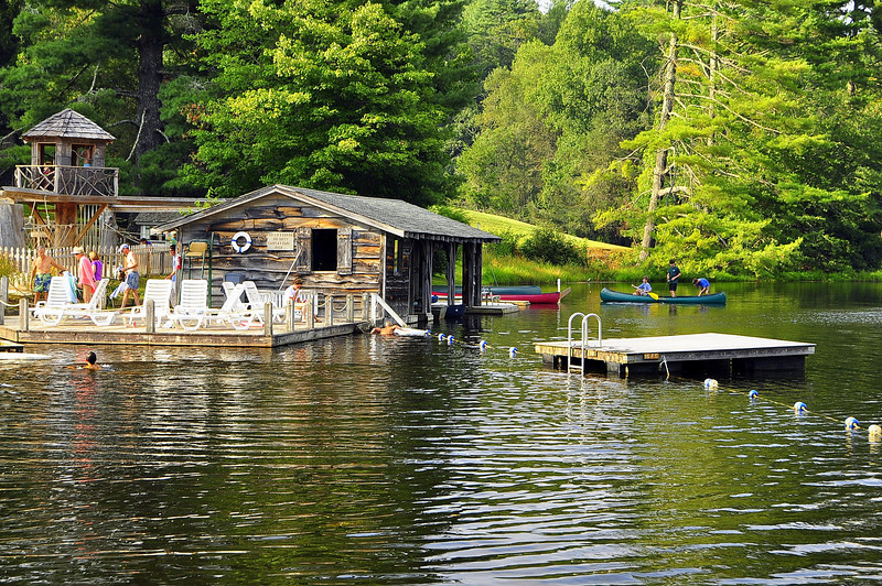 Mountain Boat House