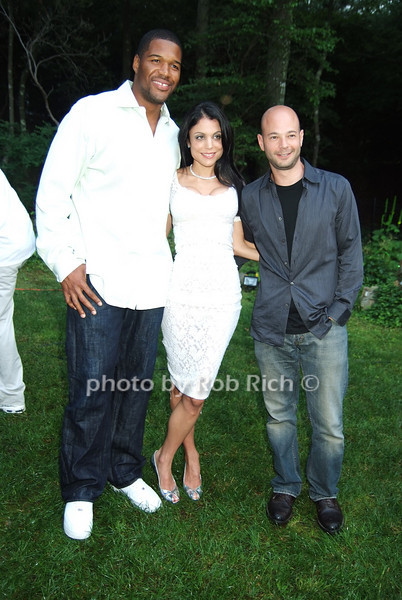 Michael Strahan, Bethenny Frankel, Jason Colodne