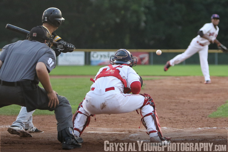 Brantford Red Sox vs. Kitchener Panthers Intercounty Baseball League Playoffs Round 1, Game 1 August 9, 2018