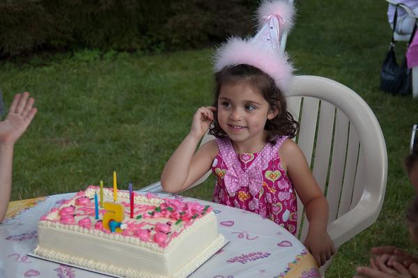 Sarah's 5th Birthday Party